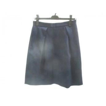 【中古】 イエナ IENA スカート サイズ40 M レディース ネイビー