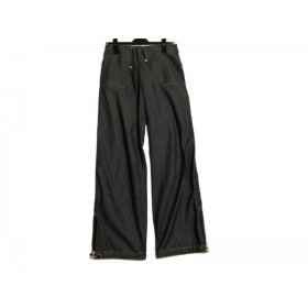 【中古】 フェンディ FENDI jeans ジーンズ レディース ダークグレー ダークブラウン