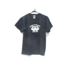 【中古】 ノーブランド 半袖Tシャツ サイズ確認できず メンズ ブラック