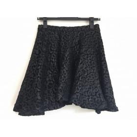 【中古】 エムエスジィエム MSGM スカート サイズ38 M レディース 黒