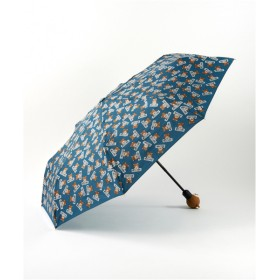 MOSCHINO 【MOSCHINO】スローガン ベア ミニオープンクローズ BLUE F