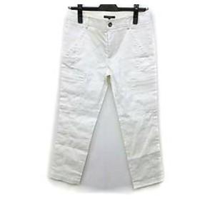 【中古】 ニジュウサンク 23区 パンツ サイズ36 S レディース 白