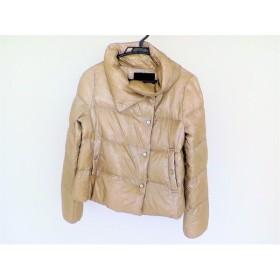 【中古】 アンタイトル UNTITLED ダウンジャケット サイズ2 M レディース ベージュ 冬物