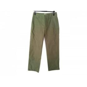 【中古】 アニエスベー agnes b パンツ サイズ38 M レディース カーキ b.green!