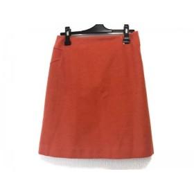 【中古】 トゥモローランド TOMORROWLAND スカート サイズ38 M レディース オレンジ collection