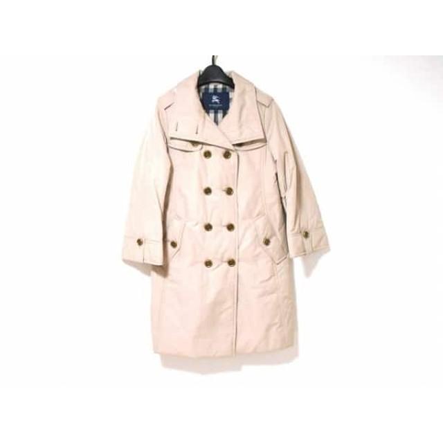 【中古】 バーバリーロンドン Burberry LONDON ダウンジャケット サイズ38 L レディース ベージュ 冬物