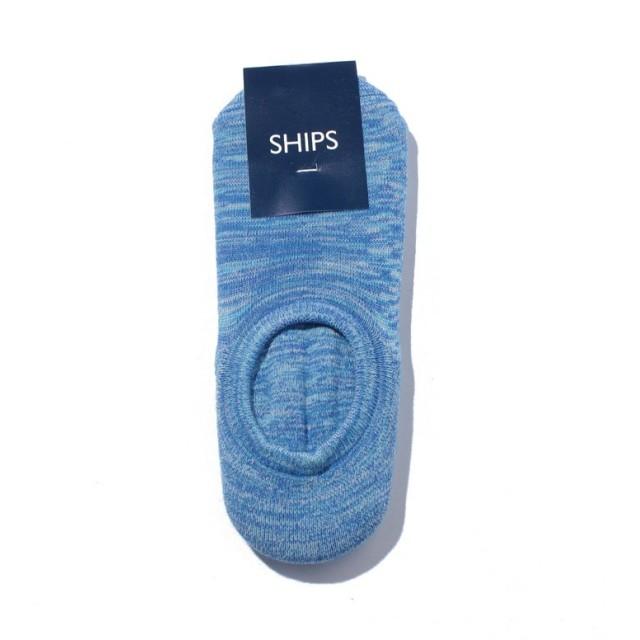 シップス SCO: SHIPS(シップス) シューズ イン スラブ ソックス メンズ ライトブルー F 【SHIPS】