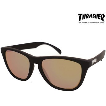 THRASHER(スラッシャー) PLANET(プラネット) No.1015 ブラック/ブラウン(偏光グラス ファッション サングラス スケート アメカジ)