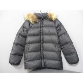 【中古】 モンクレール MONCLER ダウンジャケット サイズ00 XS レディース バレンタイン 49353 黒 冬物