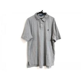 【中古】 ポロラルフローレン POLObyRalphLauren 半袖ポロシャツ サイズXL メンズ グレー