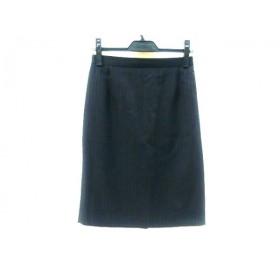 【中古】 アンタイトル UNTITLED スカート サイズ2 M レディース ブラック グレー