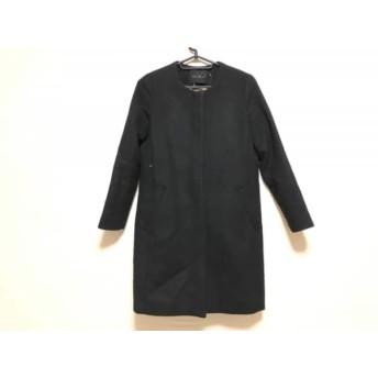 【中古】 アーバンリサーチ URBAN RESEARCH コート サイズ36 S レディース 黒 冬物