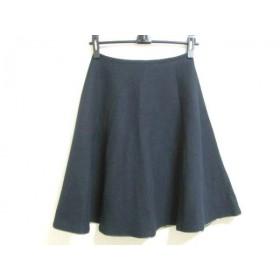 【中古】 チェスティ Chesty スカート サイズ0 XS レディース ネイビー