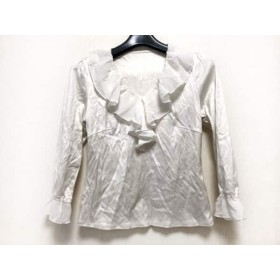 【中古】 フランコフェラーロ FRANCO FERRARO 長袖Tシャツ サイズ2 M レディース 白