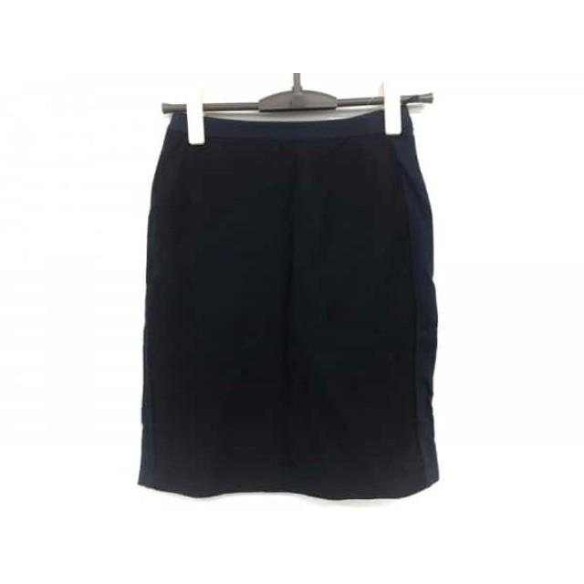 【中古】 ローズティアラ Rose Tiara スカート サイズ5 XS レディース ダークネイビー 黒