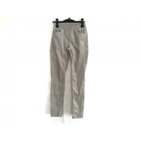 【中古】 ビアズリー BEARDSLEY パンツ サイズ0 XS レディース ライトグレー コーデュロイ/ウエストゴム
