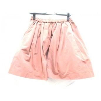 【中古】 アナトリエ anatelier ミニスカート サイズ38 M レディース ピンク