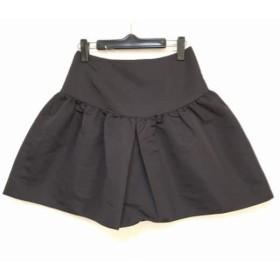 【中古】 アクアガール aquagirl スカート サイズ36 S レディース 黒