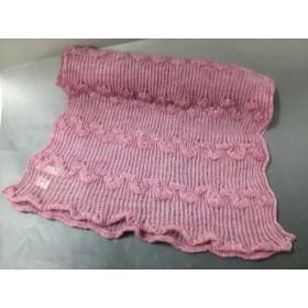 【中古】 アンテプリマ ANTEPRIMA ストール(ショール) ピンク ラメ モヘヤ ナイロン ウール 化学繊維