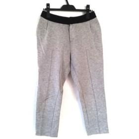 【中古】 ルシェルブルー LE CIEL BLEU パンツ サイズ38 M レディース グレー 黒