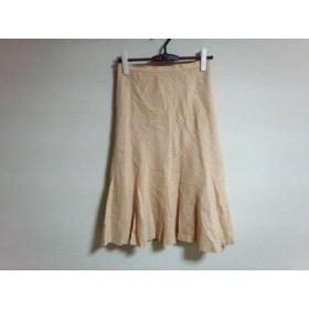 【中古】 インディビ INDIVI スカート サイズ38 M レディース ベージュ