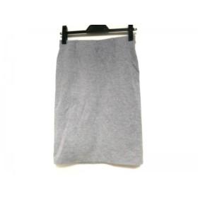 【中古】 ドゥーズィエム DEUXIEME CLASSE スカート サイズ38 M レディース グレー