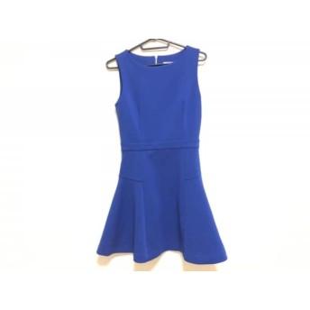 【中古】 ルシェルブルー LE CIEL BLEU ワンピース サイズ40 M レディース 美品 ブルー