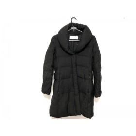 【中古】 ブラックバイマウジー BLACK by moussy ダウンコート サイズ2 M レディース 黒 冬物