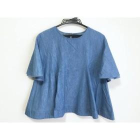 【中古】 アナトリエ anatelier 半袖カットソー サイズ2 M レディース ブルー