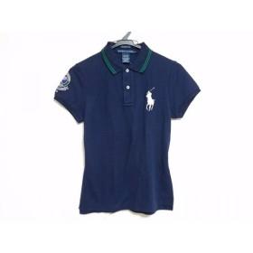 【中古】 ラルフローレン RalphLauren 半袖ポロシャツ サイズM レディース 美品 ビッグポニー