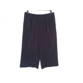 【中古】 ジユウク 自由区/jiyuku パンツ サイズ38 M レディース 黒 ウエストゴム/ワイド
