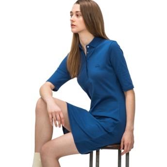 スリムフィットポロドレス(5分袖)