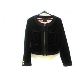 【中古】 ノーブランド ジャケット サイズ9R レディース ブラック ゴールド