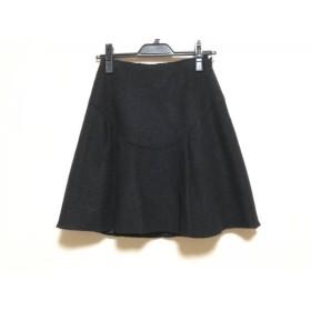 【中古】 アドーア ADORE スカート サイズ36 S レディース 黒 body dressing