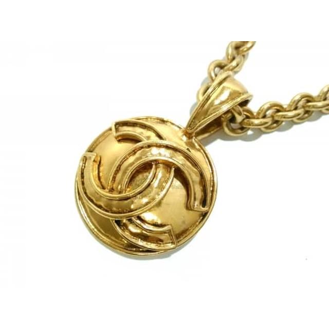 0d954e6f79c7 【中古】 シャネル CHANEL ネックレス 金属素材 ゴールド ココマーク. トップ ファッション アクセサリー ネックレス