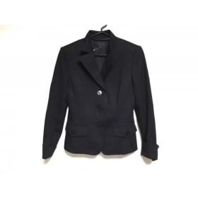 【中古】 フラジール FRAGILE ジャケット サイズ38 M レディース 美品 黒 肩パッド