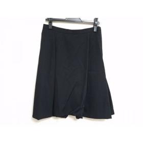 【中古】 コムデギャルソンジュンヤワタナベ スカート サイズM レディース 黒