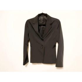 【中古】 イネド INED ジャケット サイズ11 M レディース 黒