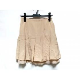 【中古】 プロポーションボディドレッシング スカート サイズ3 L レディース 新品同様 ピンクベージュ