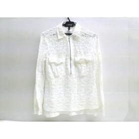 【中古】 ビーシービージーマックスアズリア BCBGMAXAZRIA 長袖シャツ サイズS S レディース ホワイト