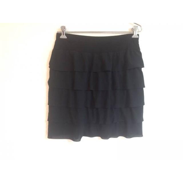 【中古】 ローズティアラ Rose Tiara スカート サイズ42 L レディース 黒