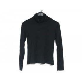【中古】 ジユウク 自由区/jiyuku 長袖Tシャツ サイズ40 M レディース 黒 タートルネック