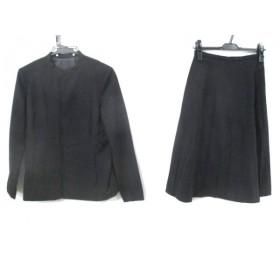 【中古】 ノーブランド スカートスーツ サイズ確認できず レディース ブラック