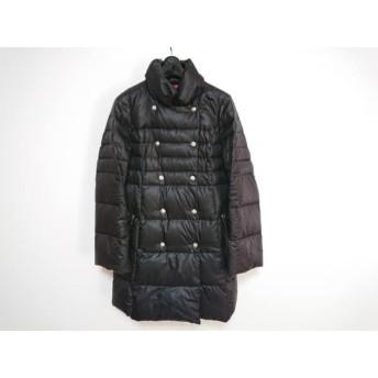【中古】 エポカ EPOCA ダウンコート サイズ42 L レディース 黒 冬物