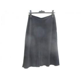 【中古】 モルガン MORGAN DE TOI スカート サイズ確認できず レディース 黒