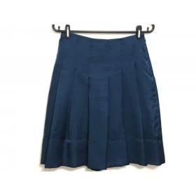 【中古】 ミュベール MUVEIL スカート サイズ36 S レディース グリーン
