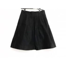 【中古】 ナラカミーチェ NARACAMICIE スカート サイズ2 M レディース 黒