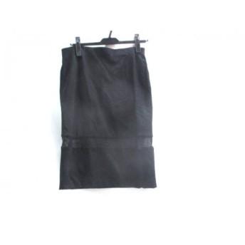 【中古】 ザラ ZARA スカート サイズL レディース ブラック