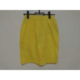 【中古】 ダブルスタンダードクロージング DOUBLE STANDARD CLOTHING スカート レディース イエロー