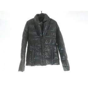 【中古】 マウジー moussy ダウンジャケット サイズ1 S レディース ダークグレー 冬物